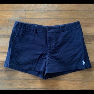 Ralph Lauren Polo Navy shorts size 10 -Worn once